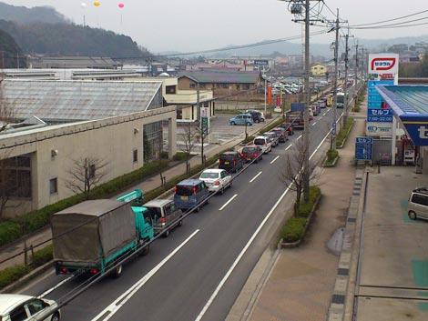 スーパーセンタートライアル松江店 本日オープンで大渋滞