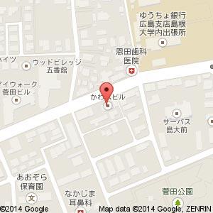 居酒屋 つきのわの地図