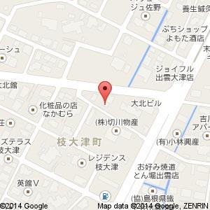 喫茶&スナック月読の地図