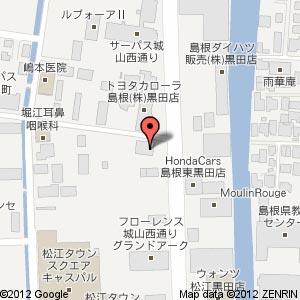 平安祭典 松江城西ウイングホールの地図