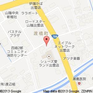 旬彩IZAKAYA印の地図