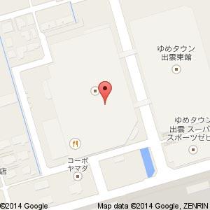 Nail&EyeLash Vina ゆめタウン出雲店の地図