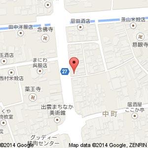 居酒屋ダイニング 和さびの地図