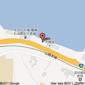 ウォッシュプラス宍道店の地図
