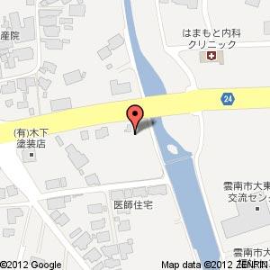 ウェルネス大東店の地図
