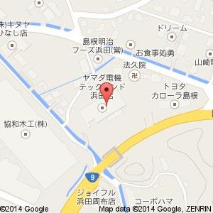 ウェルネス 浜田西店の地図