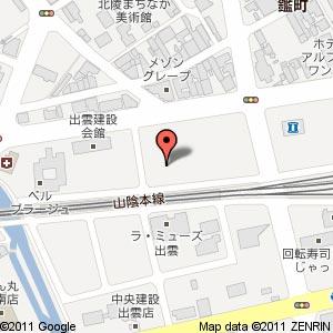 ドラッグストア ウェルネス 出雲駅北店の地図