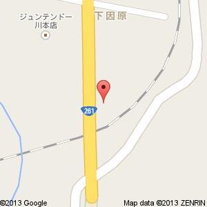 ドラッグストア ウェルネス 川本店の地図