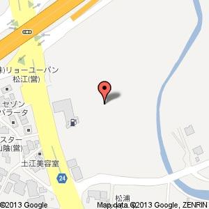 ドラッグストア ウェルネス 松江乃白店の地図