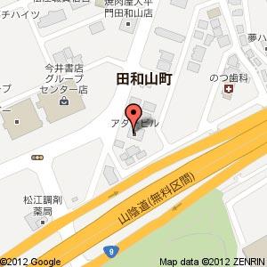 ウィルコムプラザ田和山の地図