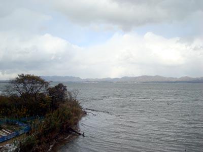 島根半島の風車