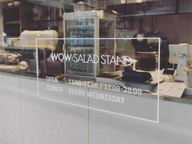 WOW SALAD STAND