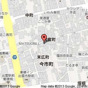 炭火焼肉 韓KARAの地図