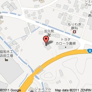 ヤマダ電機 テックランド浜田店の地図