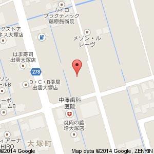 テックランドNew出雲店(仮称)の地図