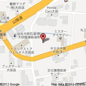 ヤマダ電機 テックランド 島根大田店の地図