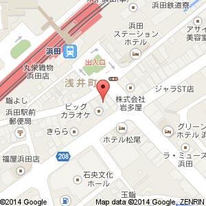 山内農場 浜田店 & 魚民 浜田店の地図