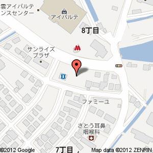 米子信用金庫東出雲支店(仮称)の地図