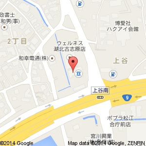 吉川歯科クリニックの地図