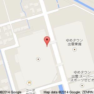 だがし屋 ゆめ横丁 ゆめタウン出雲店の地図