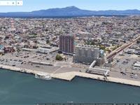 境港市街もGoogleマップの3D表示「Earthビュー」対応エリアに