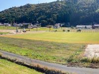 【出雲】上津に天然芝のグラウンドが完成!2021年3月グランドオープン予定『上津チャレンジフィールド』