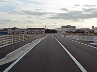 ゆめタウン出雲と大型農道を結ぶ北本町谷田谷線が開通