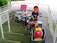 【松江】『北公園ミニ遊園地』遊具が新しくなって本日(2021年8月29日)リニューアルオープン