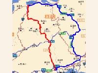 国道182号線と国道314号線で福山から松江へ