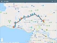 松江北道路 ルート計画案