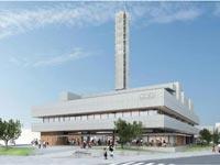 【松江】松江市立病院跡地にNHK松江放送局の新しい放送会館が2020年8月着工予定『NHK新松江放送会館』