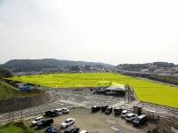 松江乃白北地区土地区画整理事業 工事開始