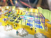 【出雲】山陰地方初となる「トランポリンアクティビティ」が登場『あそび王国ぴぃかぁぶぅ出雲店』がリニューアルオープン予定