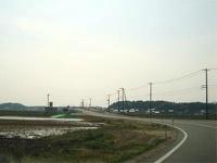 松江西部地区農免農道 開通