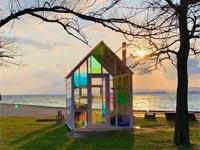 【松江】岸公園に宍道湖の夕日をテーマにしたテイクアウトカフェが2020年7月4日オープン 『宍道湖サンセットカフェ』