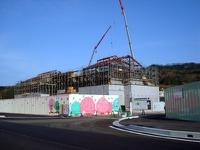 雲南警察署移転工事進捗