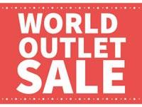 【出雲】ゆめタウン出雲本館1階「グローブ」がワールド4ブランドのアウトレットショップとして再オープン『ワールドアウトレットセール』