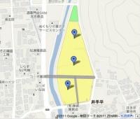 山代土地区画整理事業の店舗配置