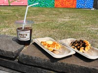 【R3.4月オープン】ori's cafe(道の駅ゆうひパーク三隅内)   はまナビ 浜田市観光協会公式サイト