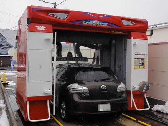 ビユーテー社製最新洗車機「GAIAS(ガイアス)」