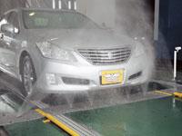 洗車機 隼(はやぶさ)下部洗浄