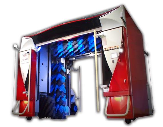 ビユーテー社製最新洗車機「雅(みやび)」