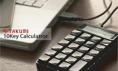 【 TAKUMI 】 10Key Calculator