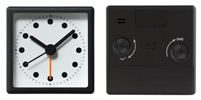 ±0(プラスマイナスゼロ)2.5R Analog Alarm Clock(アナログアラームクロック)