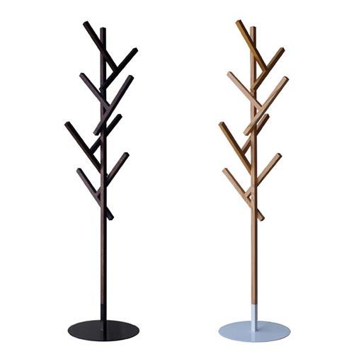 複雑なようでシンプルなデザイン 木を思わせるコートハンガー abode FORTY