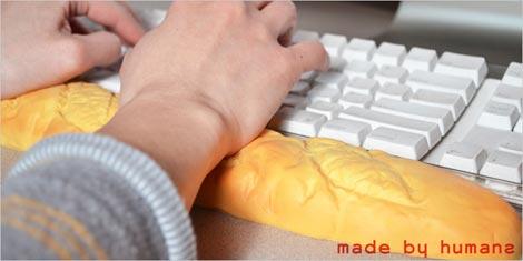 made by humans (メイド・バイ・ヒューマンズ)Baguette Keyboard Wrist-Cushion(バゲット キーボードリストクッション)