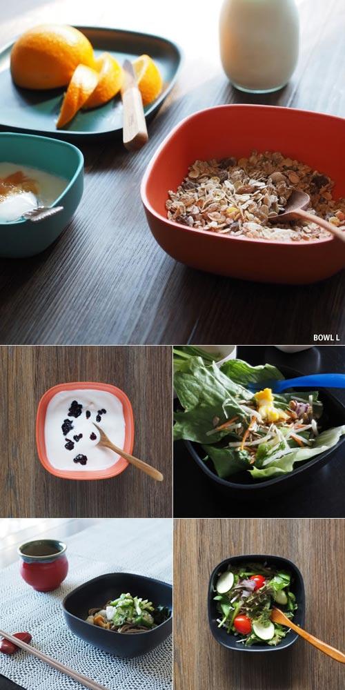 竹でできてるエコで軽いお皿 EKOBO BIOBU BOWL(ビオブボウル)