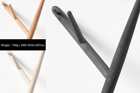 Authentics(オーセンティクス)branch coat hanger(ブランチコートハンガー)