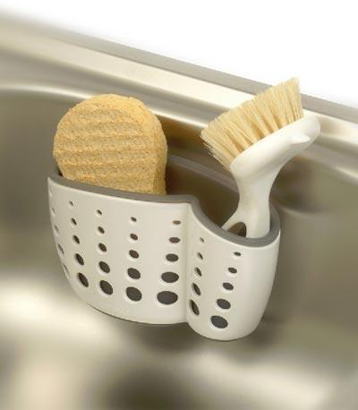 Casabella(カサベラ) Sink Sider(シンクサイダー) Suction Cup Sponge Holder(サクションカップ スポンジホルダー)
