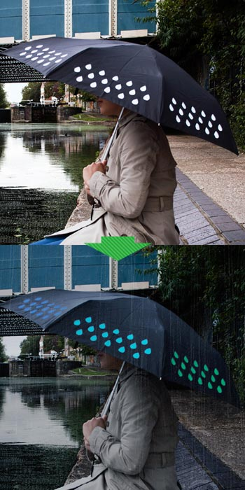 Suck UK(サックユーケー)Colour Changing Umbrella(カラーチェンジングアンブレラ)